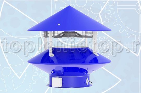 Дефлектор вентиляционный электромеханический